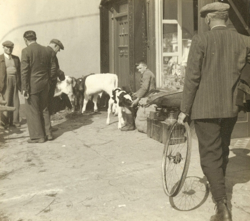market town, town market, ireland, irish town market
