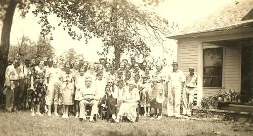 Ferrier Family Dallas County MO