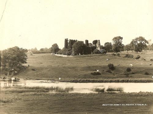 bective abbey, county meath, river boyne, ireland, Irish abbey, cistercian abbey