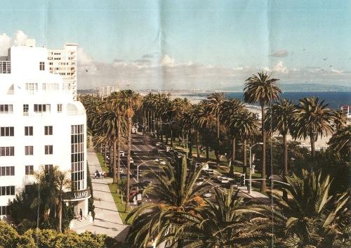 Santa Monica, CA, Ocean Avenue, photography