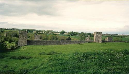 midieval ruins, Irish ruins, kells, county kilkenny, ireland