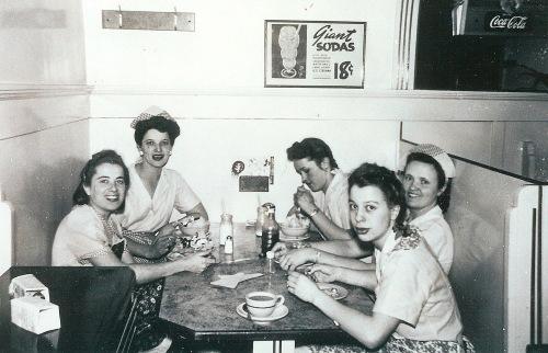 50's diner, Marge Truitt, Marguerite Shank Truitt, Berkeley diner