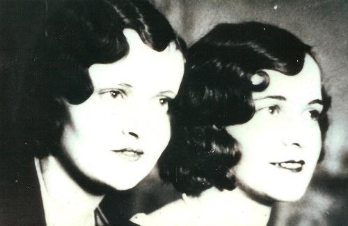 Marguerite Shank Truitt, Flossie Chambers, 1930's hairstyles