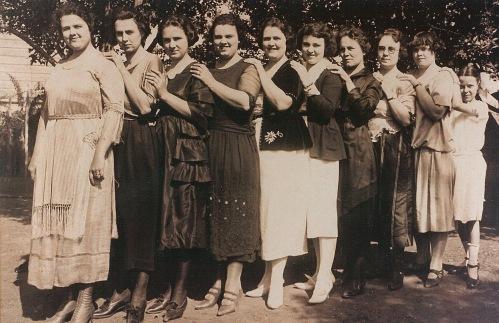 George Preston McMenus Daughters, Odessa Washington
