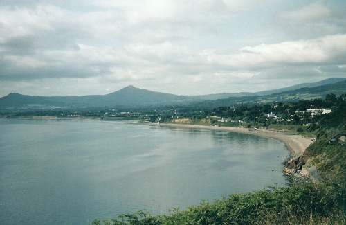 Killiney Bay, Killiney, County Dublin, Ireland