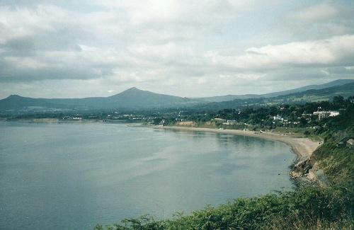 Killiney Bay, Killiney, County Dublin, Ireland
