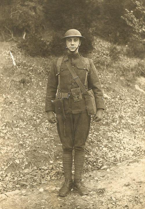 WWI, WWI uniform, Luxemburg, WWI soldier, Orville Marlin
