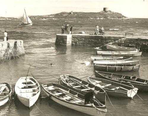 Coliemore Harbor, Dalkey, Dalkey Island, County Dublin, Ireland