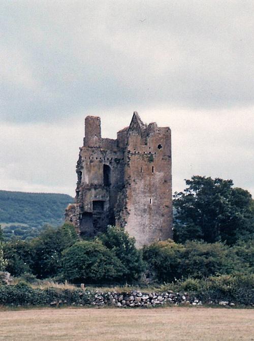 Irish ruins, Ireland, photography
