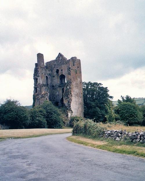 Irish castle ruins, Irish ruins, Cromwell in Ireland, Henry VIII in Ireland