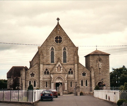 Rathvilly Church, County Carlow, Rathvilly Cemetery