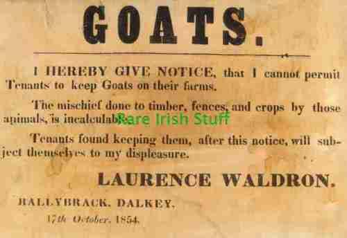 Waldon sign, Dalkey, Ballybrack, County Dublin, Ireland, Killiney