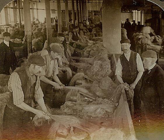 Ewart Linen Mill, Belfast, Northern Ireland – 1905